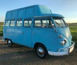 1974 VW T1 KOMBI SPLIT SCREEN CAMPER MEDICAL DENTIST KARMANN TOP * VERY RARE
