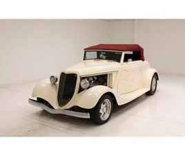 FOR SALE: 1934 FORD CABRIOLET IN MORGANTOWN, PENNSYLVANIA