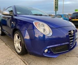 USED 2010 ALFA ROMEO MITO 1.6 VELOCE JTDM 3D 120 BHP HATCHBACK 69,738 MILES IN TURQUOISE F