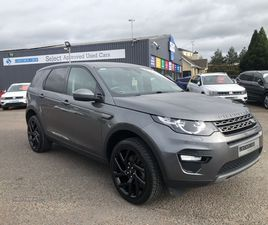 >2018 LAND ROVER DISCOVERY SPORT 2.0 TD4 180 SE TECH 5DR AUTO
