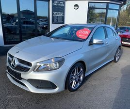 >MAY 2018 MERCEDES A-CLASS A180D AMG LINE 5DR AUTO