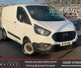 2018 FORD TRANSIT CUSTOM 2.0TDCI 300 L1H1 (105PS)(EU6) PANEL VAN - £14,250 +VAT