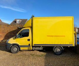 2013 IVECO DAILY 35S11 LUTON VAN WITH TAIL LIFT