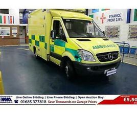 2011 - 11 - MERCEDES SPRINTER 519 3.0CDI 190PS AUTO 5TON AMBULANCE (GUIDE PRICE)