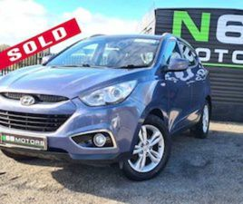 HYUNDAI IX35 CLASSIC 1.7 5DR MPV FOR SALE IN CLARE FOR €7995 ON DONEDEAL