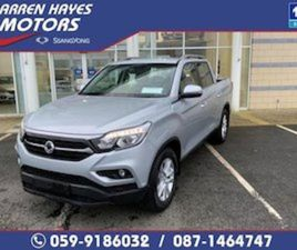 SSANGYONG MUSSO EL 2.2 AUTO FOR SALE IN CARLOW FOR €38945 ON DONEDEAL