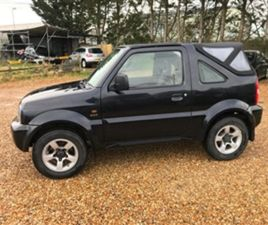 USED 2005 SUZUKI JIMNY JLX SOFT TOP CONVERTIBLE 69,000 MILES IN BLACK FOR SALE | CARSITE