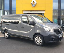 RENAULT TRAFIC MINIBUS 9SEATER AIR CON FOR SALE IN CARLOW FOR €23495 ON DONEDEAL