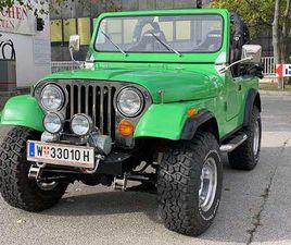 JEEP CJ 7 V8 SUV / GELÄNDEWAGEN, 1984, 2.000 KM, € 24.900,- - WILLHABEN