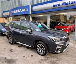 USED 2020 SUBARU FORESTER 2.0I E-BOXER XE 5DR LINEARTRONIC AWD ESTATE 4,000 MILES IN GREY