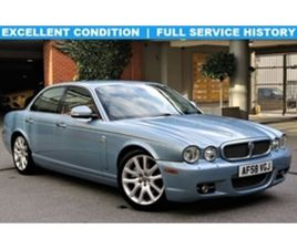 USED 2008 JAGUAR XJ SERIES 2.7 V6 SOVEREIGN 4D 204 BHP SALOON 123,200 MILES IN BLUE FOR SA