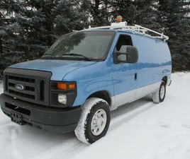 2010 FORD E-250 CARGO VAN, INSULATED, SHELVING, ROOF RACK | CARS & TRUCKS | EDMONTON | KIJ