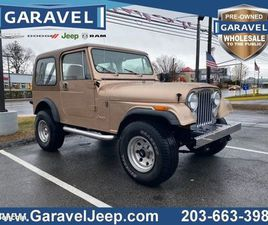JEEP CJ-7 DE 1985 - TAXES ET TRANSPORT INCLUS