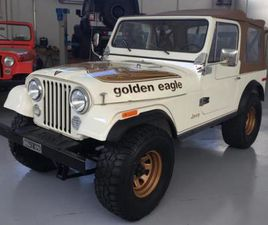 JEEP CJ-7 GOLDEN EAGLE AMC 304 QUADRATRACK LEVIS RIF. 14656766