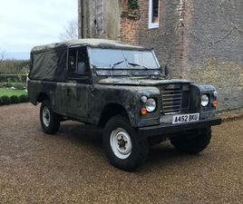 LAND ROVER SERIES III 2.3 109 PICK-UP 2DR