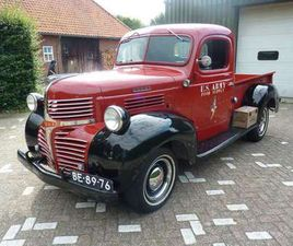 DODGE W SERIE PICK-UP TRUCK JOB RATED 1946