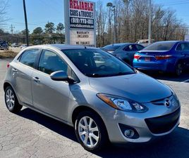 SILVER COLOR 2013 MAZDA MAZDA2 TOURING FOR SALE IN RALEIGH, NC 27603. VIN IS JM1DE1LY0D016