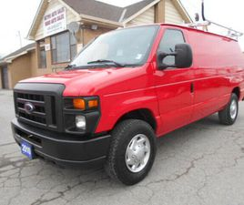 2010 FORD ECONOLINE E250 4.6L LOADED RACK DIVIDER SHELVING 105K | CARS & TRUCKS | CITY OF