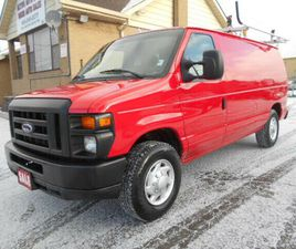 2011 FORD ECONOLINE E250 LOADED RACK DIVIDER SHELVING ONLY 113KM | CARS & TRUCKS | CITY OF