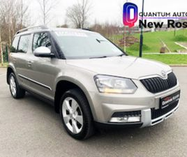 SKODA YETI 2.0 OUTDOOR 2014 // €65 P/W NO DEPOSIT FOR SALE IN WEXFORD FOR €12995 ON DONEDE