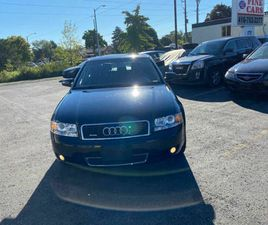 2004 AUDI A4 1.8T, SUNROOF, LEATHER, AWD, CERTIFIED 1 OWNER | CARS & TRUCKS | CITY OF TORO
