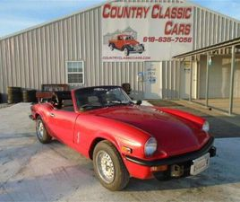 FOR SALE: 1978 TRIUMPH SPITFIRE IN STAUNTON, ILLINOIS