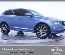 BLUE COLOR 2017 VOLVO XC60 T6 INSCRIPTION FOR SALE IN OKLAHOMA CITY, OK 73132. VIN IS YV44