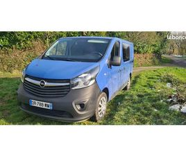 VEND OPEL VIVARO 6 PLACES