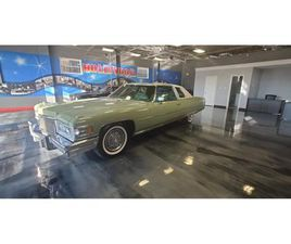 FOR SALE: 1975 CADILLAC COUPE IN WEST BABYLON, NEW YORK