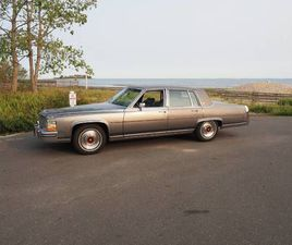 1989 CADILLAC BROUGHAM FOR SALE