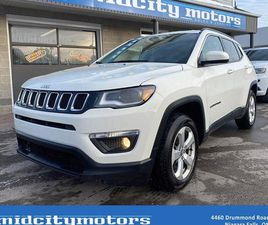 USED 2018 JEEP COMPASS NORTH 4X4/ BACKUP CAM/ REMOTE START/ CLEAN CARFAX