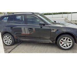 BMW X3 BOÎTE MANUELLE 8600 NÉGOCIABLE