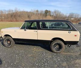 FOR SALE: 1980 INTERNATIONAL SCOUT IN CADILLAC, MICHIGAN