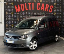 TRES BELLE VOLKSWAGEN CADDY 1.6 TDI CLIM 7PLACES 121000KMS