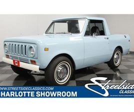 FOR SALE: 1973 INTERNATIONAL SCOUT IN CONCORD, NORTH CAROLINA