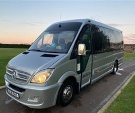 USED 2012 MERCEDES-BENZ SPRINTER 2.1 516 CDI 17STR BUS 164 BHP NOT SPECIFIED 190,000 MILES