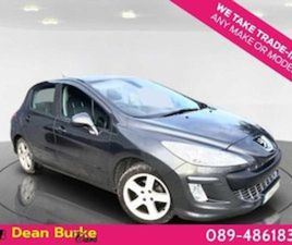 PEUGEOT 308 LOW MILES LOW TAX FOR SALE IN TIPPERARY FOR €4350 ON DONEDEAL