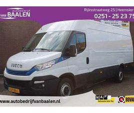 IVECO DAILY 3.0I AUTOM CNG 3PERS L4 H2 AC ECC CRUISE 63000KM!!