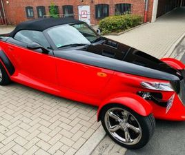 PLYMOUTH PLYMOUTH PROWLER WOODWARD EDITION IN ROT/SCHWARZ