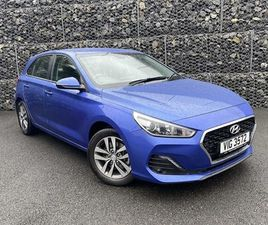 USED 2020 HYUNDAI I30 1.6 CRDI SE NAV 5DR HATCHBACK 10,554 MILES IN BLUE FOR SALE | CARSIT