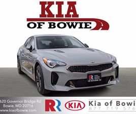 BRAND NEW SILVER COLOR 2021 KIA STINGER GT-LINE FOR SALE IN BOWIE, MD 20716. VIN IS KNAE15