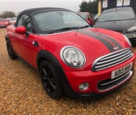 USED 2013 MINI ROADSTER COOPER CONVERTIBLE 61,500 MILES IN RED FOR SALE | CARSITE