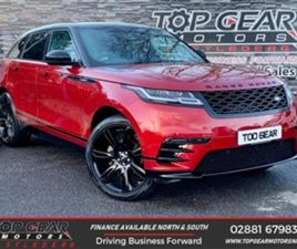 USED 2017 LAND ROVER RANGE ROVER VELAR 2.0 180BHP R-DYNAMIC SE AUTO NOT SPECIFIED 19,500 M