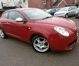 2011 61 ALFA ROMEO MITO DISTINCTIVE M AIR, 1.4CC PETROL,135 BHP, 3 DOOR, 5 SPEED
