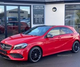 USED 2018 MERCEDES-BENZ A CLASS 180 DMG LINE PREMIUM HATCHBACK 56,000 MILES IN RED FOR SAL