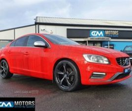 USED 2015 VOLVO S60 R-DESIGN D4 SALOON 89,126 MILES IN RED FOR SALE | CARSITE
