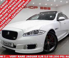 5.0 V8 (550 PS) XJR AUTO (S/S) 4DR..NAV..PANORAMIC SUNROOF..R/CAMERA..E/M/HEAT-COOL LEATHE
