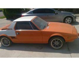 FOR SALE: 1982 FIAT X1/9 IN CADILLAC, MICHIGAN