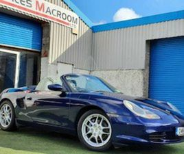 PORSCHE BOXSTER 2.7 NCT 04.22 TAX 04.21 FOR SALE IN CORK FOR €9999 ON DONEDEAL