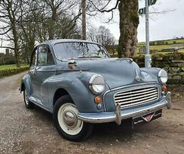 1960 CLARENDON GREY MINOR 2 DOOR SALOON, A REAL DIAMOND OF A MOGGY!